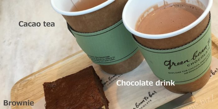 chocolateドリンク