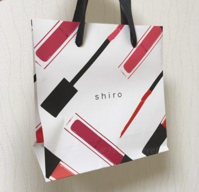 shiroの限定ショッピングバッグ